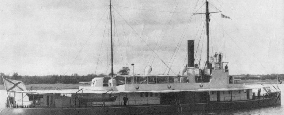 Канонерская лодка «Бурят»