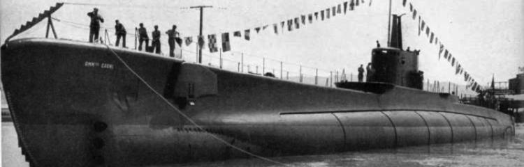 Подводная лодка «Ammiraglio Cagni»