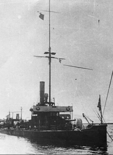 Канонерская лодка «Красная Звезда» (Вогул)