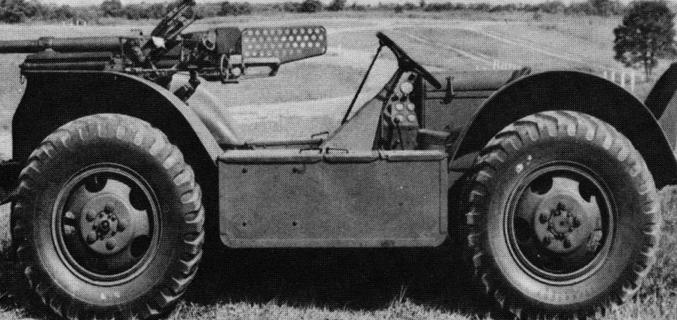 САУ 37-mm Gun Motor Carriage T8 (на базе Ford 4х4 Swamp Buggy)