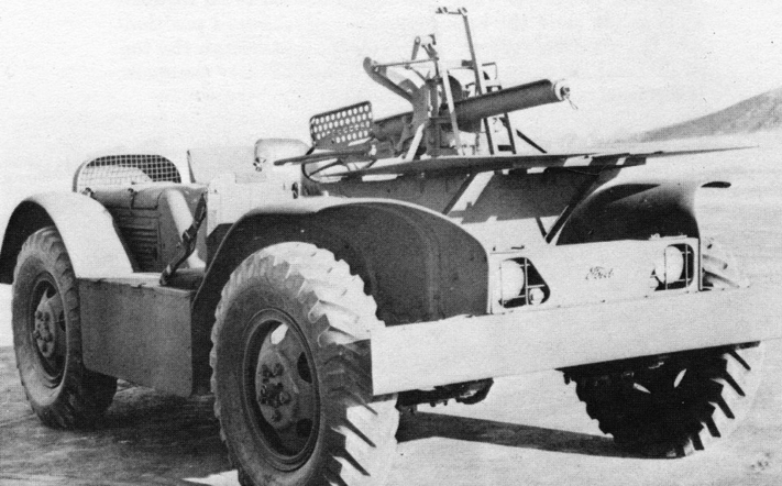 САУ 37-mm Gun Motor Carriage T8 (на базе Ford 4х4 Swamp Buggy)