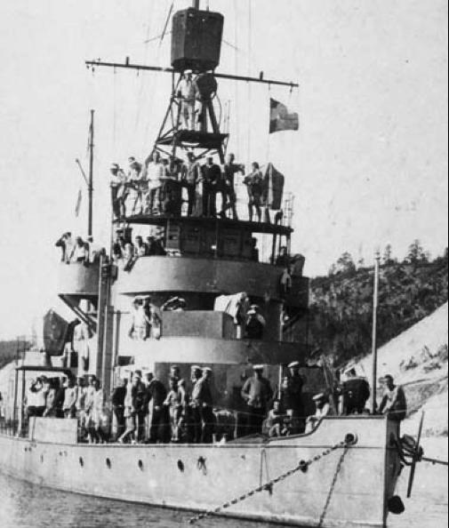 Канонерская лодка «Пролетарий». (Вотяк)
