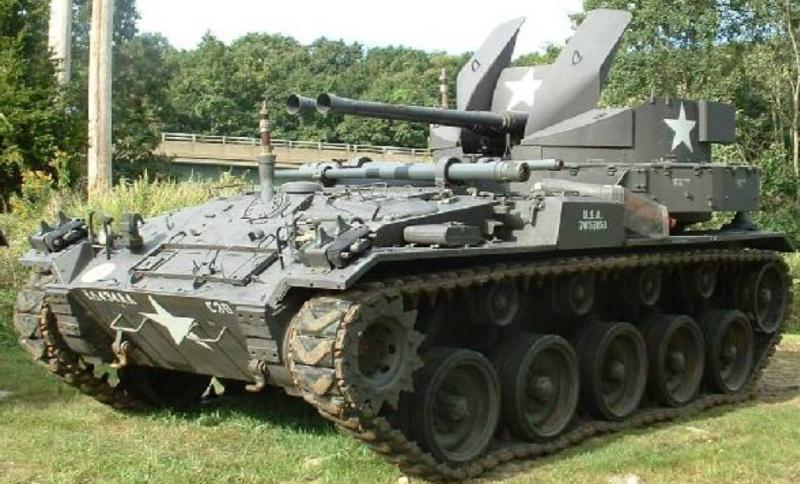 ЗСУ Twin 40-mm Gun Carriage M-19