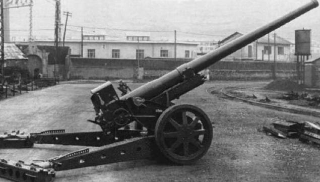 Полевая пушка Cannone da 149/40 mod.35
