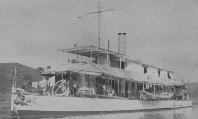 Канонерская лодка «Robin»