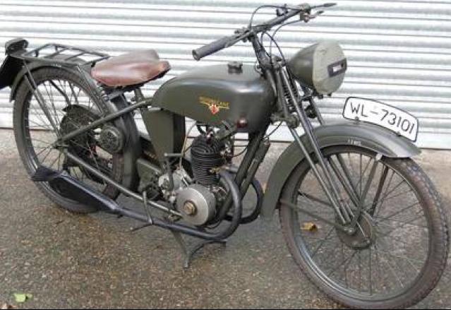 Мотоцикл Motobecane B-1V2
