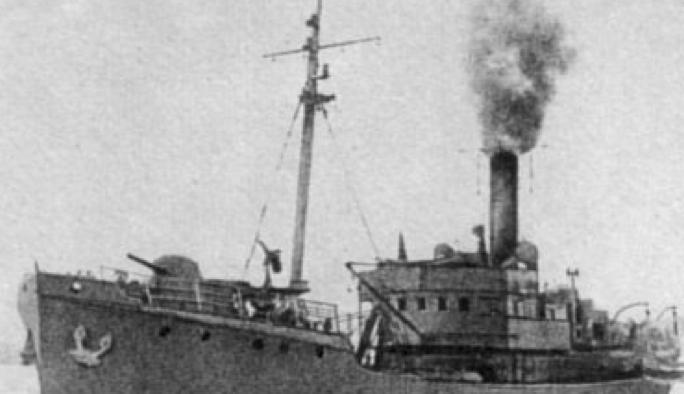 Cторожевой корабль «Бриз» (РТ-58)