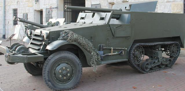 САУ 57-mm Gun Motor Carriage T-48