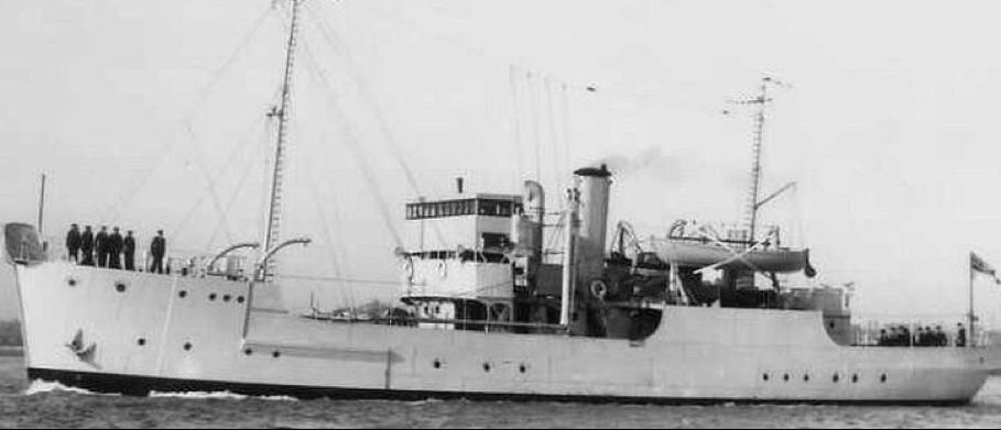 Cторожевой корабль «Mastiff»