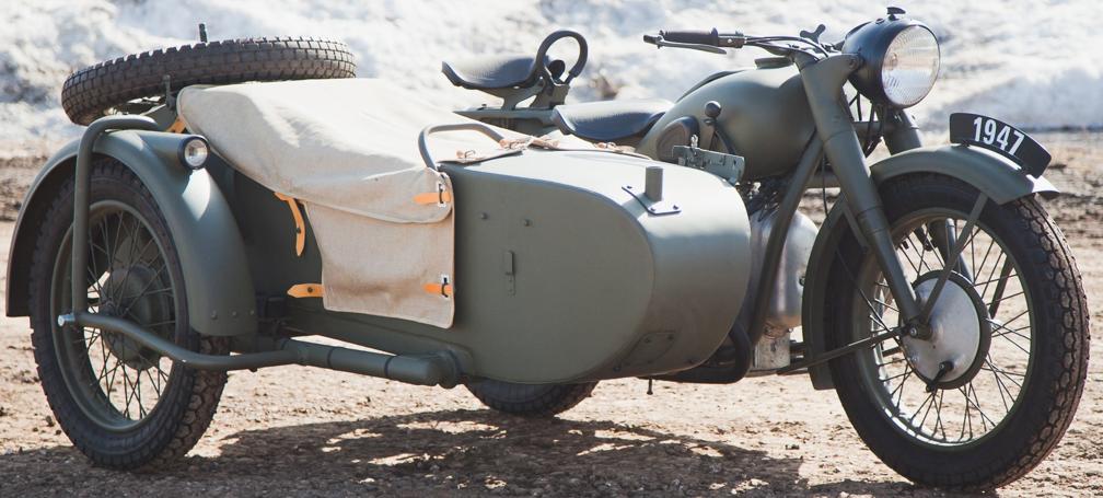 Мотоцикл М-73