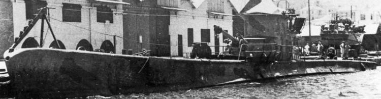 Подводная лодка «Perla»
