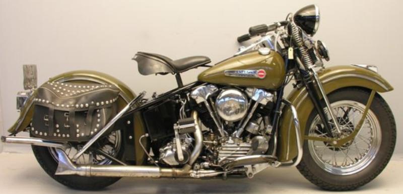 Мотоцикл Harley-Davidson EL