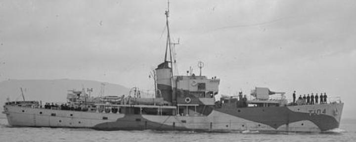 Сторожевой корабль «Cotillion»