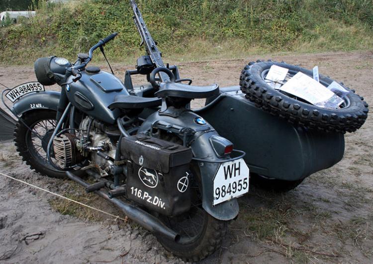 Мотоцикл BMW R-75