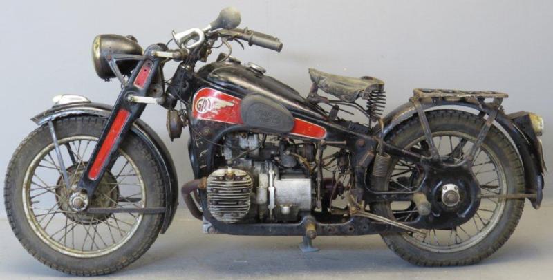 Мотоцикл Gnome-Rhone 800 AX-2
