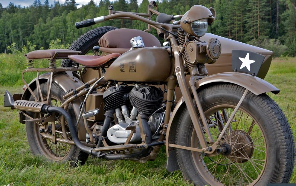 Мотоцикл Rikuo Type 97