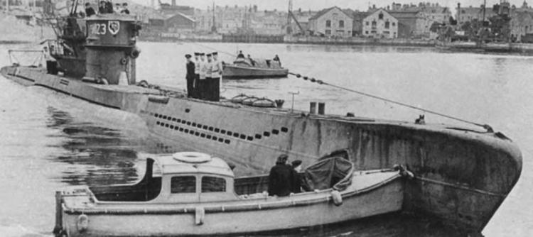 Подводная лодка «U-1023»