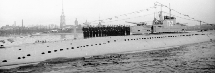 Подводная лодка типа «П-3» (Искра)