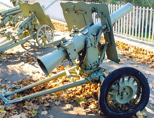Безоткатное орудие - 7,5-сm LG -40, со щитом