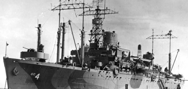 Штабной корабль «Ancon» (AGC-4)