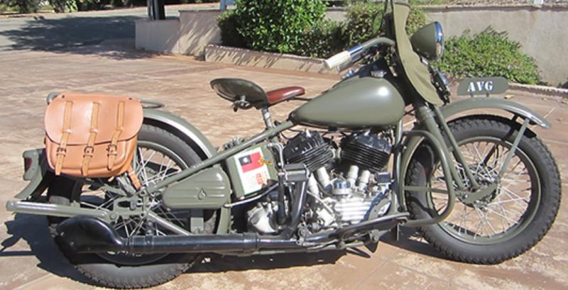 Мотоцикл Harley-Davidson UА