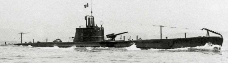Подводная лодка «Ascianghi»
