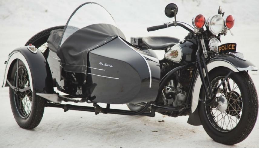 Мотоцикл Harley-Davidson UH