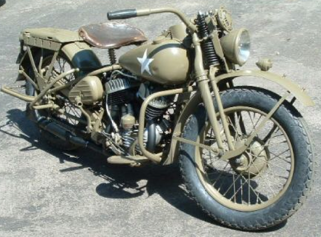 Мотоцикл Harley-Davidson WLА для ленд-лиза