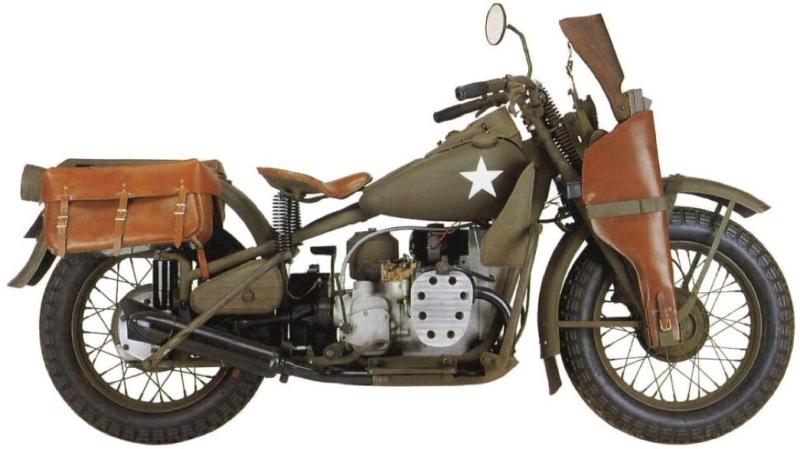Мотоцикл Harley-Davidson XA