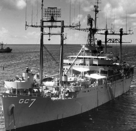 Штабной корабль «Mount McKinley» (AGC-7)