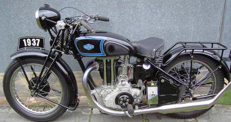 Мотоцикл Gillet Herstal 500 OHV