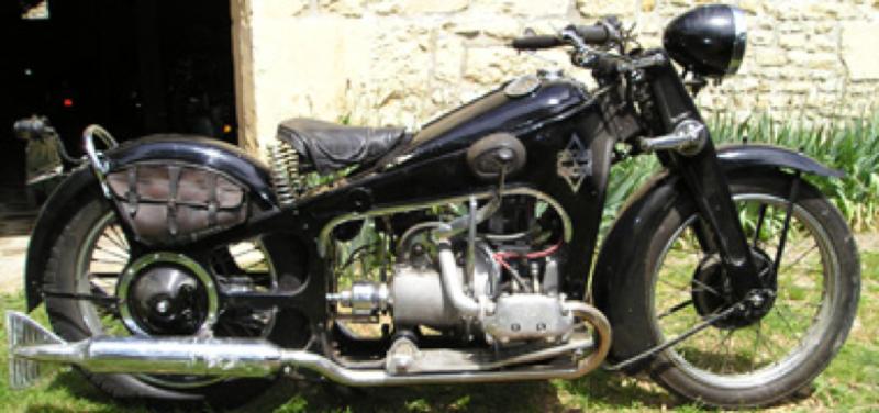 Мотоцикл Gnome-Rhone CV-2