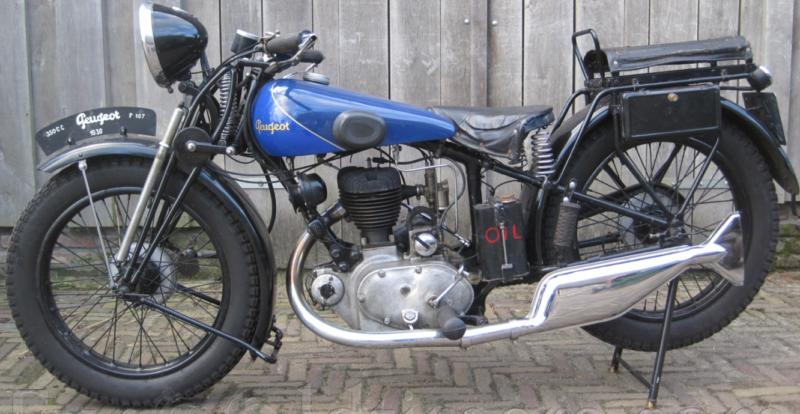 Мотоцикл Peugeot P-107