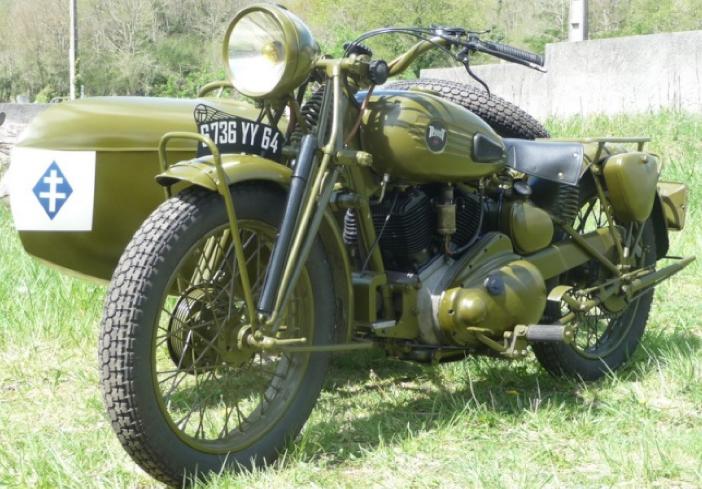 Мотоцикл Terrot VATT -750