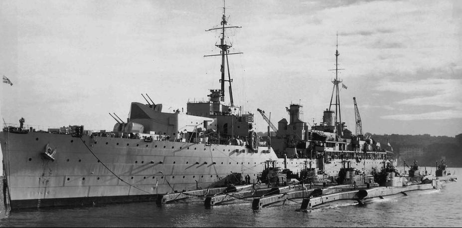 Плавбаза подводных лодок «Adamant» (A-164)