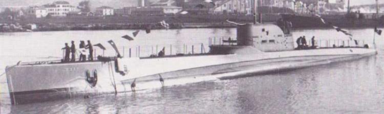 Подводная лодка «Ammiraglio des Geneys»