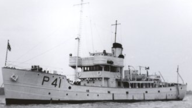 Сторожевой корабль «Tiree»