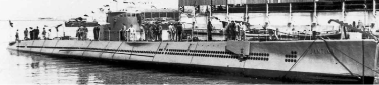 Подводная лодка «Jantina»