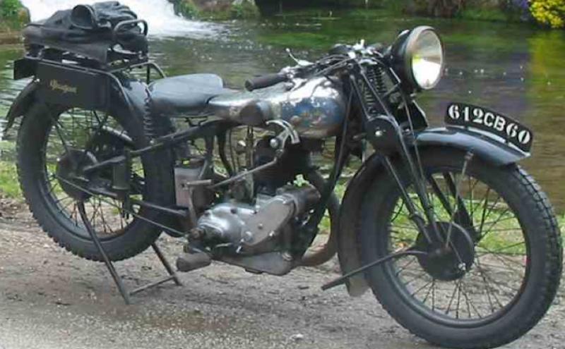 Мотоцикл Peugeot P-108