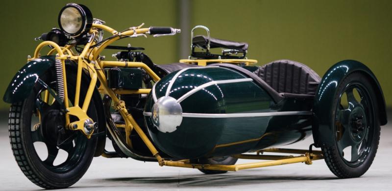 Четырехместный мотоцикл Böhmerland 600