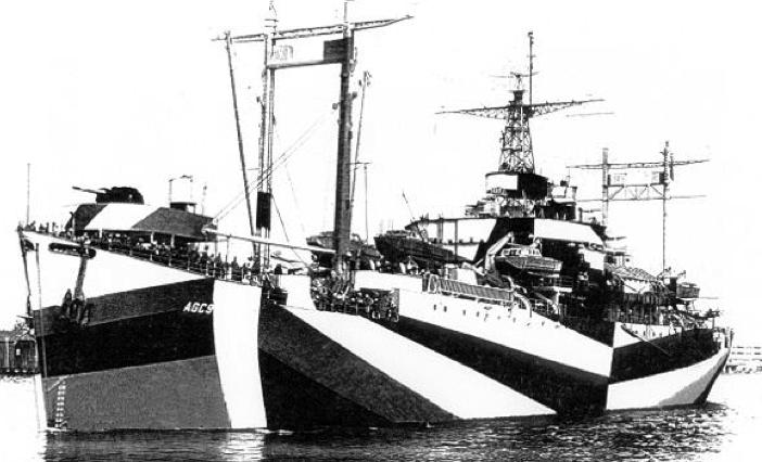 Штабной корабль «Wasatch» (AGC-9)