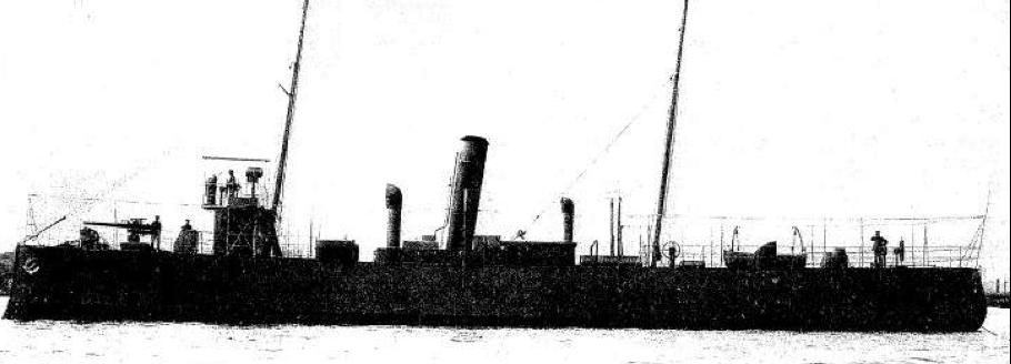 Речная канонерская лодка  «Oyapock»
