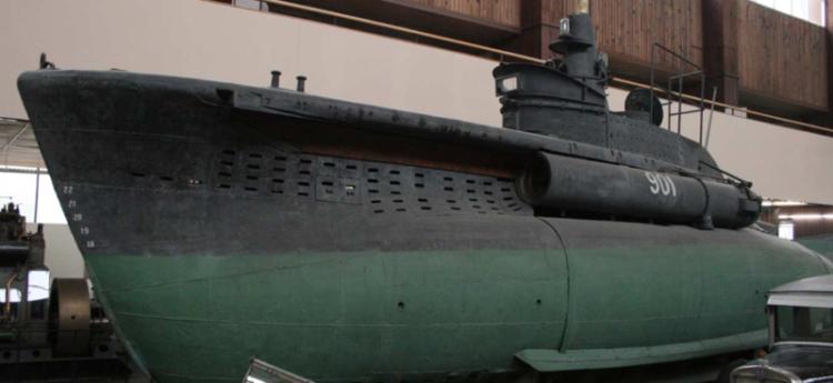 Подводная лодка «СВ-20»