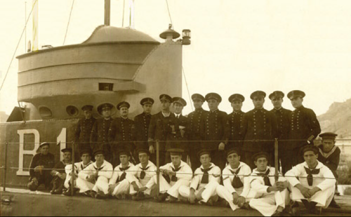 Подводная лодка «В-1»