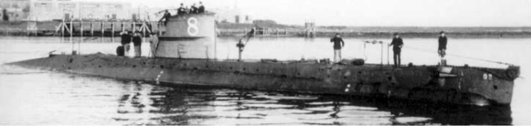 Подводная лодка «О-8»
