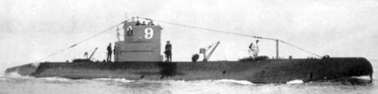 Подводная лодка «O-9»