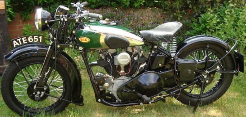Мотоцикл BSA Y-13