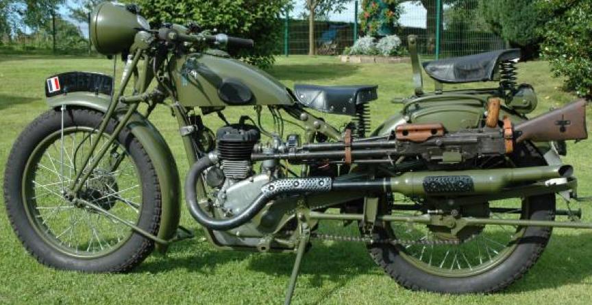 Мотоцикл Peugeot P-112