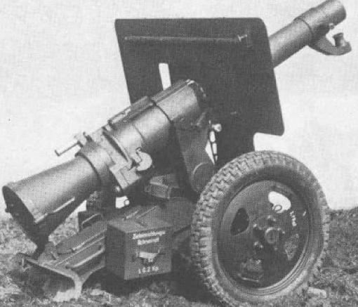Безоткатное орудие 10.5-cm LG- 40