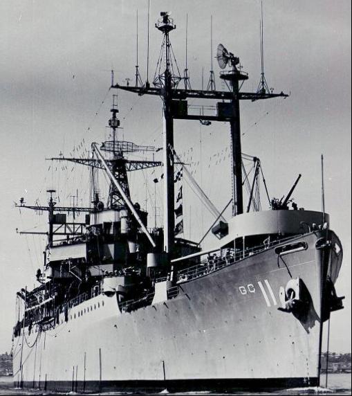 Штабной корабль «Eldorado» (AGC-11)